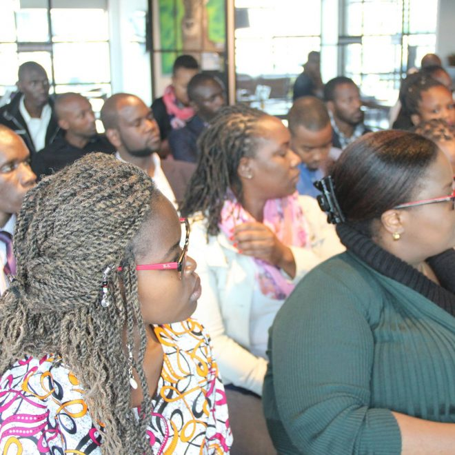 During the 1Million Startups event launch at Metta Nairobi in November 2017